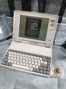 A laptop from 1991 that needed data recovery